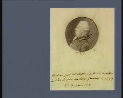 Mathieu comte de Buttafoco député de la noblesse de l'isle de Corse aux Etats Généraux de 1789 né en Corse 1731 : [dessin]