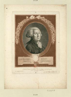 J.M. Pelauque Beraut député de la sénéch.ée du Condomois, né en 1758 : [estampe]