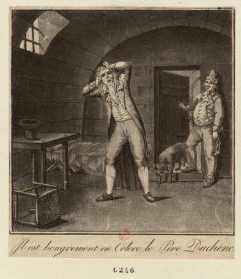 Il est bougrement en colere le Pere Duchene [estampe]