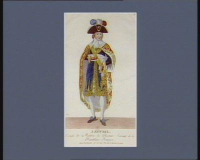J. Rewbel costume des membres du Directoire exécutif de la République française : [estampe]