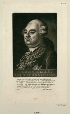 Louis seize, roi de France & Nav Bataven ! Zie met vreugd... : [estampe]