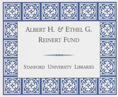 Albert H. and Ethel G. Reinert Fund