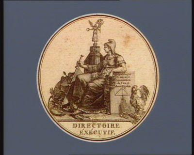 Directoire exécutif République française Constitution de l'an III liberté égalité : [estampe]