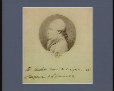 M. Humblot député du Beaujolais né à Villefranche le 19 février 1734 : [dessin]