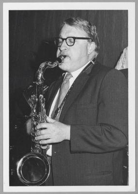 Richard Hadlock, tenor sax