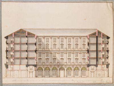 Palazzo Marescotti, spaccato