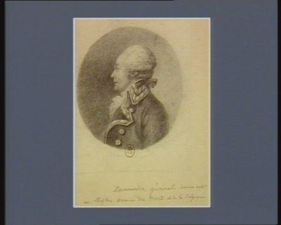 Dumouriez général command.t <em>en</em> chef des armées du Nord et de <em>la</em> <em>Belgique</em> : [dessin]