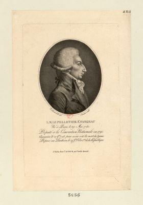 L.M. Le Pelletier St Fargeau né à Paris le 29 mai 1760... : [estampe]