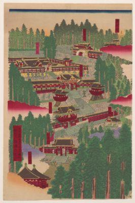 Nikkōsan gochinza Tōshōgū narabini Taiyūbyō no shashin no zu