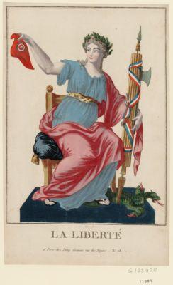La  Liberté [estampe]