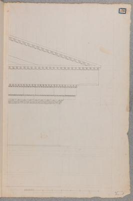 Foro Traiano, pianta e angoli di timpani