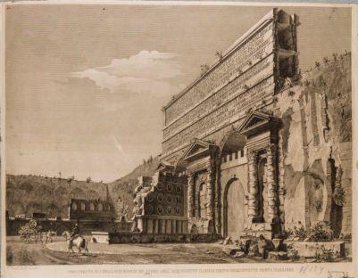 Porta Prenestina. Monumento di Marco Virgilio Eurisace