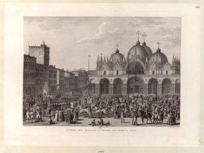 Entrée des français a Venise, en floréal, an 5 [estampe]