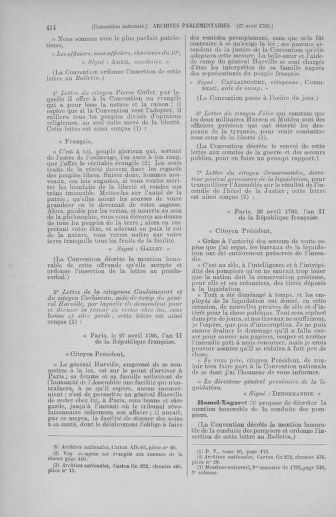Tome 63 : Du 20 avril au 1er mai 1793 - page 414