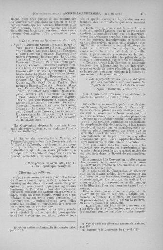 Tome 63 : Du 20 avril au 1er mai 1793 - page 419