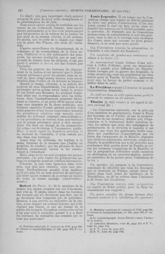 Tome 63 : Du 20 avril au 1er mai 1793 - page 426