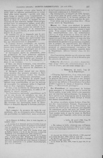 Tome 63 : Du 20 avril au 1er mai 1793 - page 527