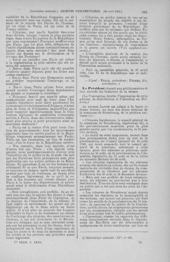 Tome 63 : Du 20 avril au 1er mai 1793 - page 545