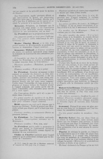 Tome 63 : Du 20 avril au 1er mai 1793 - page 578