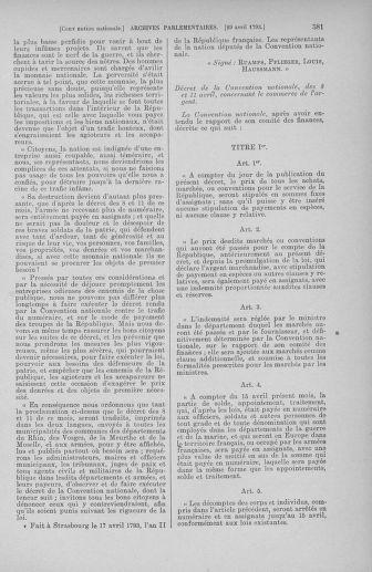 Tome 63 : Du 20 avril au 1er mai 1793 - page 581