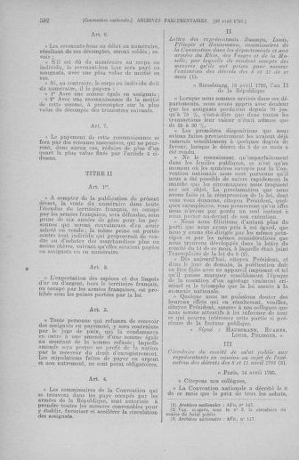 Tome 63 : Du 20 avril au 1er mai 1793 - page 582