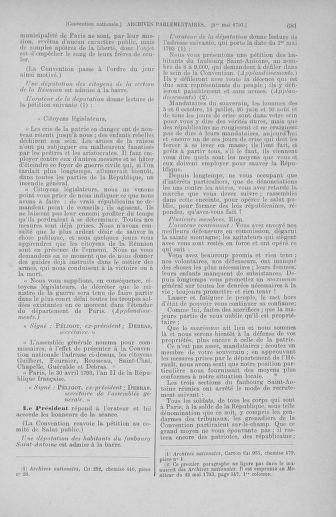 Tome 63 : Du 20 avril au 1er mai 1793 - page 681