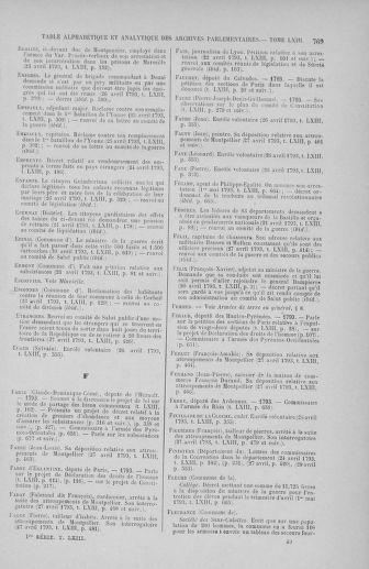 Tome 63 : Du 20 avril au 1er mai 1793 - page 769