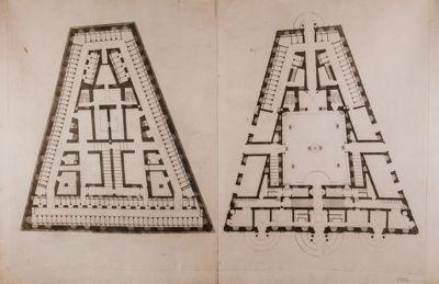Palazzo della Consulta, pianta