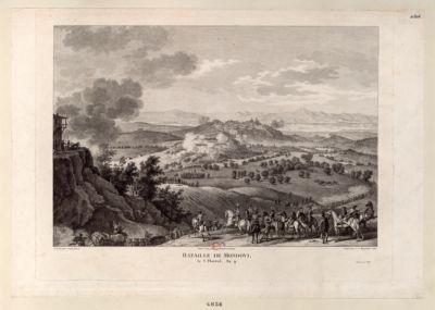Bataille de Mondovi, le 3 [i.e. 2] Floréal, An 4 [estampe]