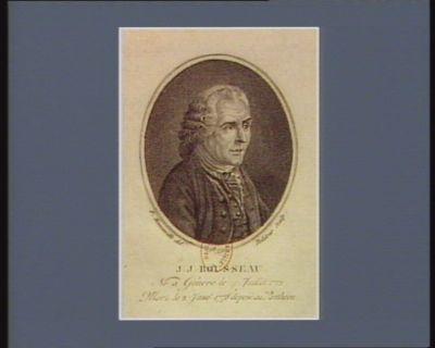 J.J. Rousseau, né à Genève le 4 juillet 1712, mort le 2 janv.r 1778 deposé au Panthéon [estampe]