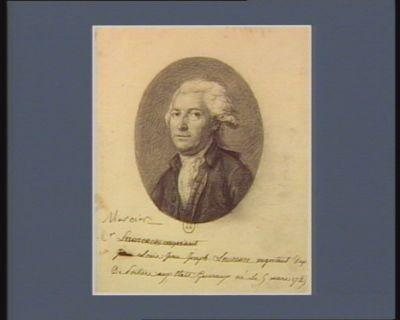 M. Louis Jean Joseph Laurence negociant dep. de Poitiers aux Etats generaux né le 9 mars 1749 : [dessin]