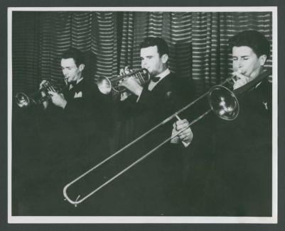 Bob Scobey, Lu Watters and Turk Murphy at the Dawn Club