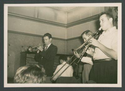 Bob Scobey, Wally Rose, Jack Buck, George Probert