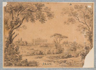Villa Albani. Casino, esterno