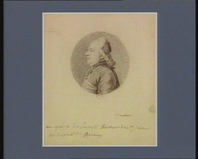 M. Quéru de Lacoste, recteur de St Jean et député de Rennes [dessin]