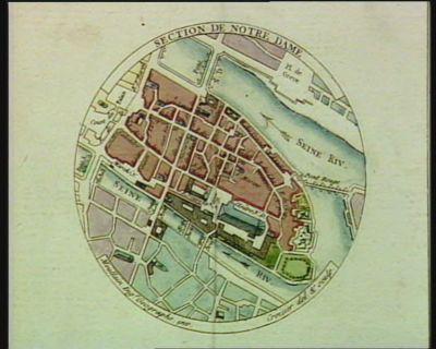 Section de Notre Dame [estampe]