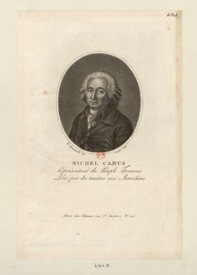 Michel Camus représentant du peuple français, livré par des traîtres aux Autrichiens : [estampe]