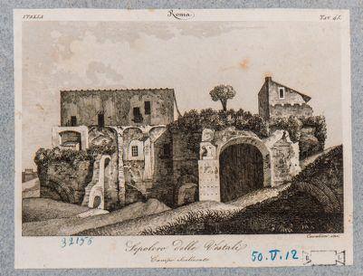 Villa Barberini. Sepolcro detto delle Vestali
