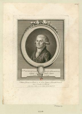 C.de C.phe Gourdan, lieuten.t assesseur au b.ge presidial de Gray député du baill. d'Amon né à Champlitte le 1.er 9.bre 1744 : [estampe]