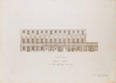 Palazzo Vidoni. Prospetto
