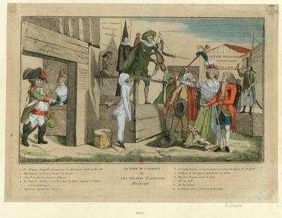 La  Foire de Coblentz ou les grands fantoccini français [estampe]