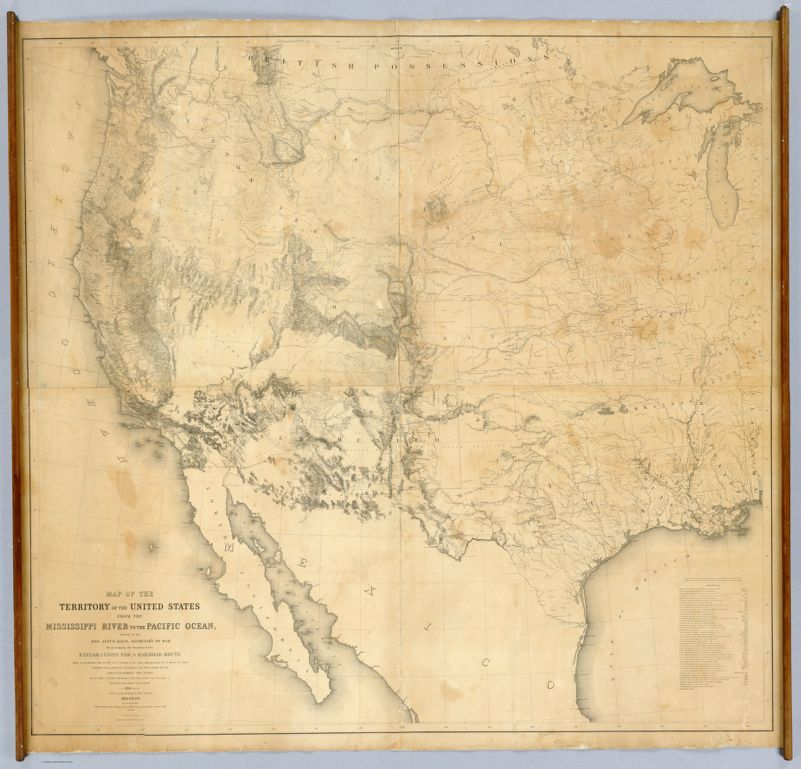 Maps of the Railroads | Transcontinental Railroad ...