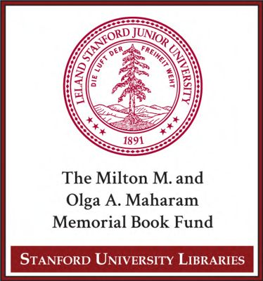 The Milton M. and Olga A. Maharam Memorial Book Fund