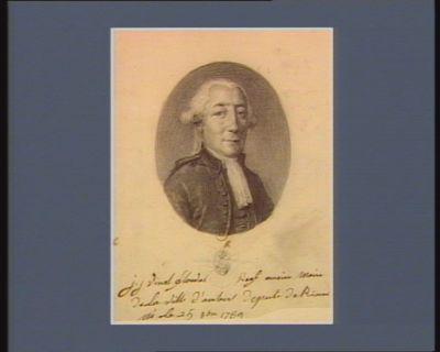J.J. Vimal Flouvat reg.l ancien maire de la ville d'Ambert depute de Rioux né le 25 9.bre 1739 : [dessin]