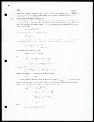 CS 155 1974 - Handout No. 7