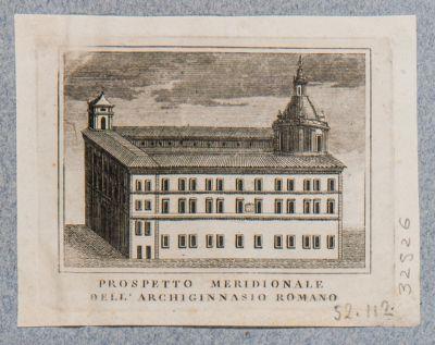 Palazzo della Sapienza, esterno. Veduta del fianco su via Oberdan