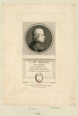 J. B.te Bottex curé de Neuville né au dit lieu en 17 député de Bourg en Bresse aux Etats généraux de 1789 : [estampe]