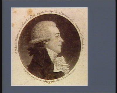 J. Julien de Toulouse né à Nismes le 1 8.bre. 1754, député du dep. t de H.te Garonne à la Convention nationale : [estampe]