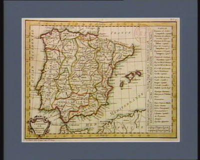 Roy.mes d'Espagne <em>et</em> de Portugal divisés par g.des provinces : [estampe]