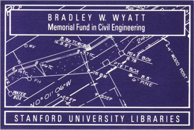 Bradley W. Wyatt Memorial Fund in Civil Engineering